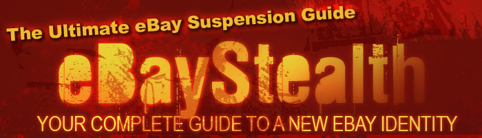eBay Stealth - Paypal and eBay Suspended Account Guide